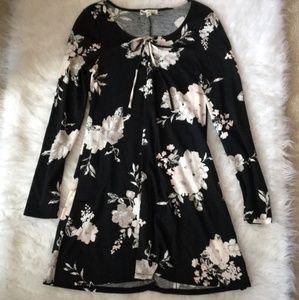 [ About A Girl ] Long Sleeve Floral Dress